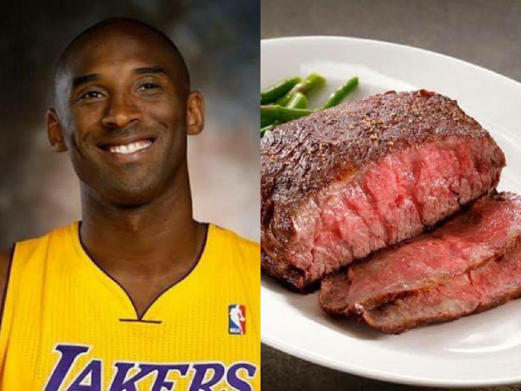 Nama Kobe Bryant Ternyata Terinspirasi dari Nama Daging Sapi