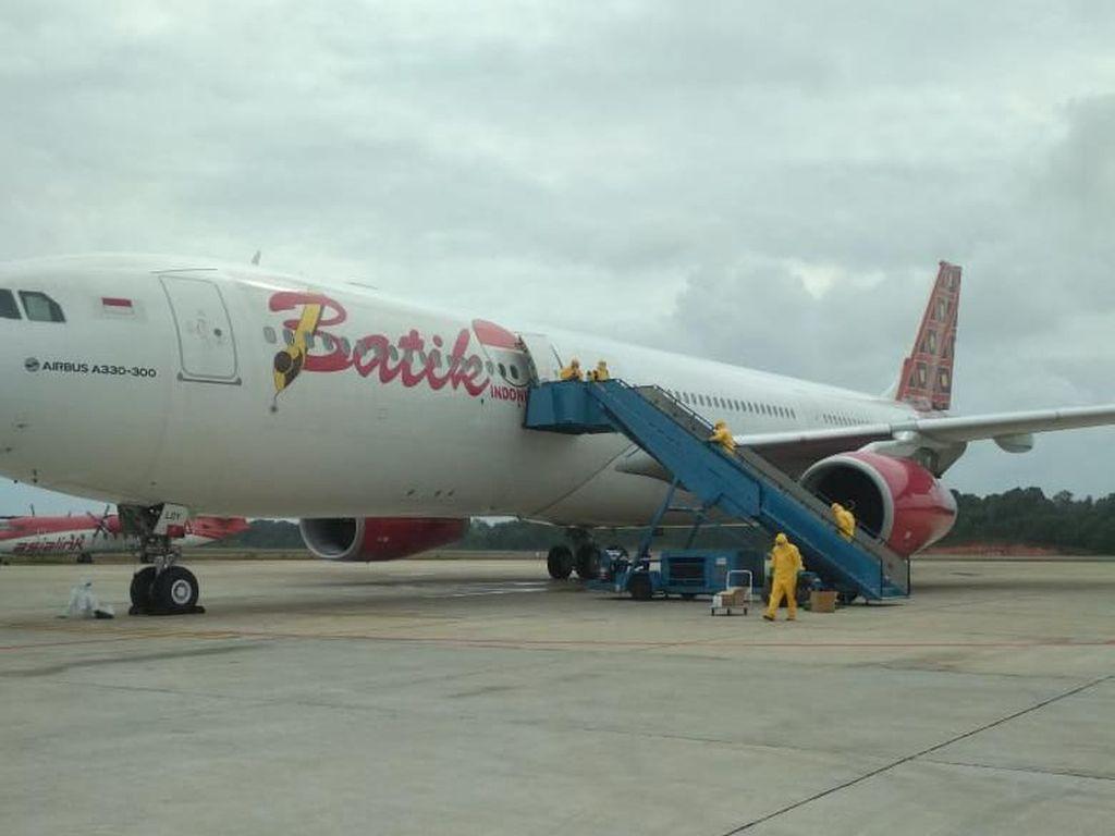 Kondisi Terkini Pesawat Batik Air yang Dipakai Jemput WNI ke Wuhan