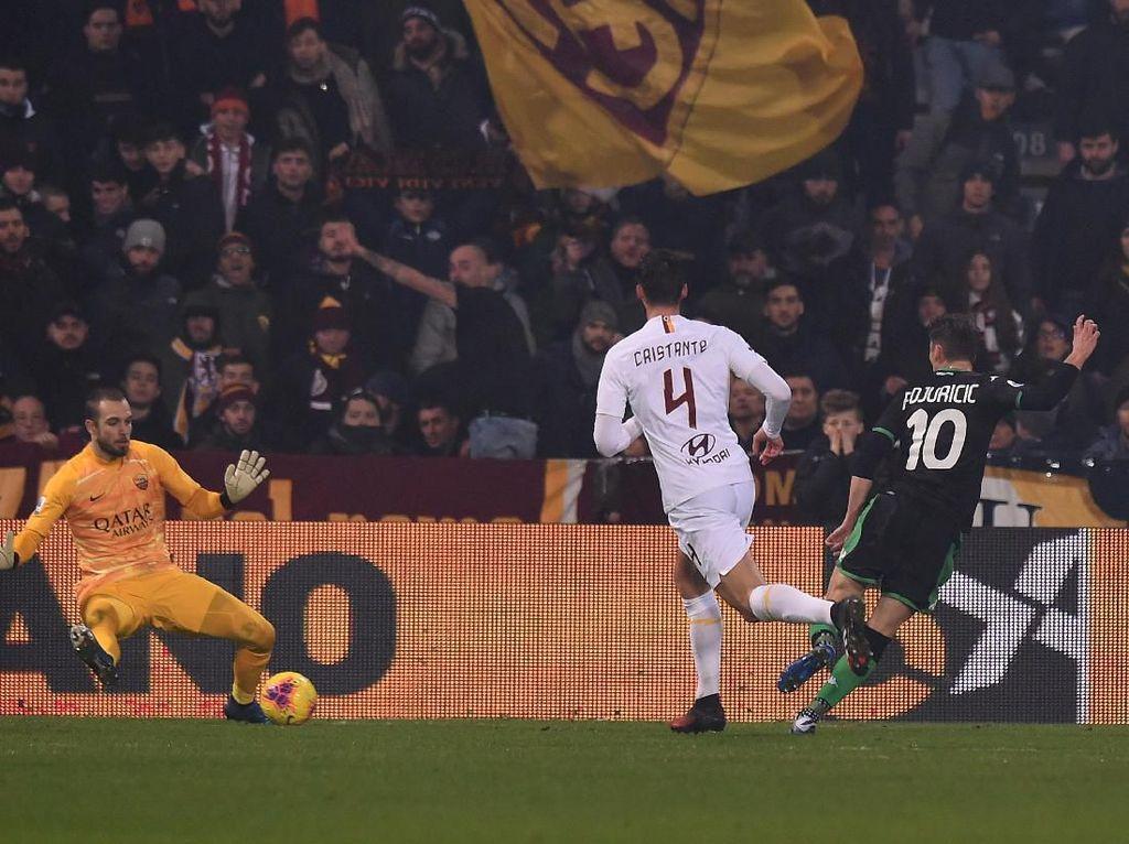 Hasil Liga Italia: Roma Dikalahkan Sassuolo 2-4