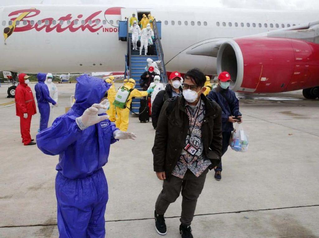 3 WNI yang Gagal Keluar Wuhan karena Kelelahan Sudah Kembali ke Asrama