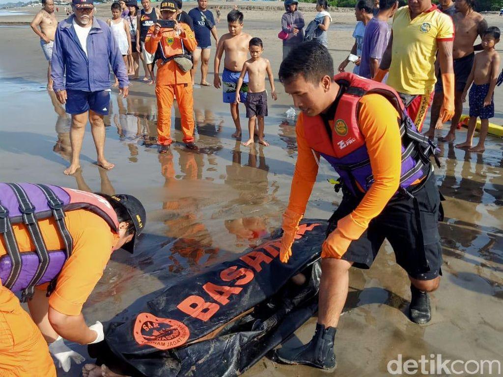 WN Afrika yang Terseret Arus Pantai Berawa Bali Ditemukan Tewas