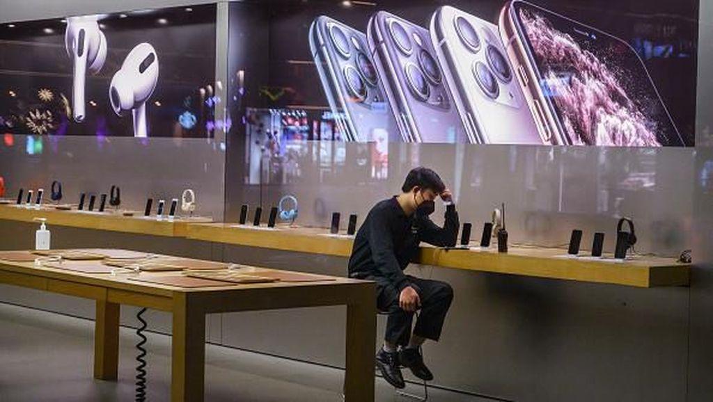 Melongok Apple Store China Sebelum Tutup Gegara Virus Corona