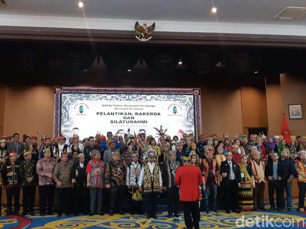 Dewan Adat Minta Warga Dayak Dilibatkan dalam Pembangunan Ibu Kota Baru
