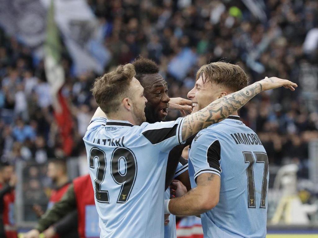 Hasil Liga Italia: Bantai SPAL, Lazio Naik ke Posisi Kedua