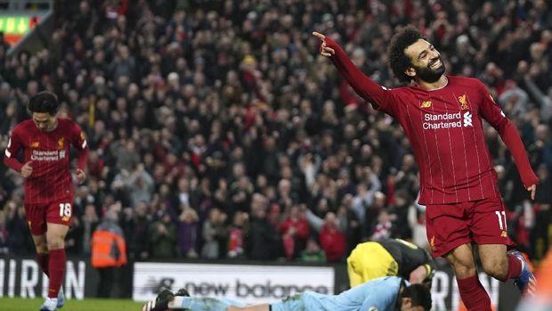 Klasemen Liga Inggris: Liverpool Unggul 22 Poin atas Man City