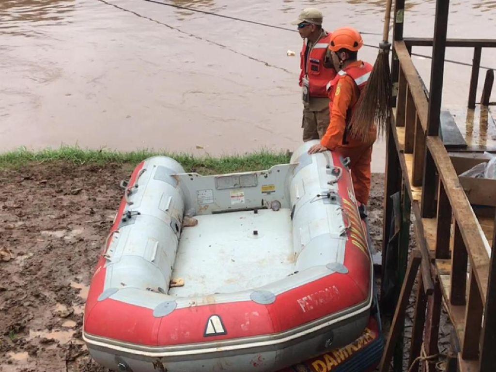 Hari Kedua Pencarian, Bocah Tenggelam di Kali Pesanggrahan Belum Ditemukan