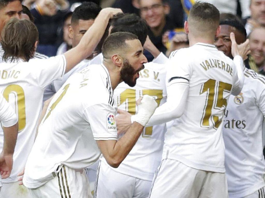 Real Madrid Tak Pikirkan Treble