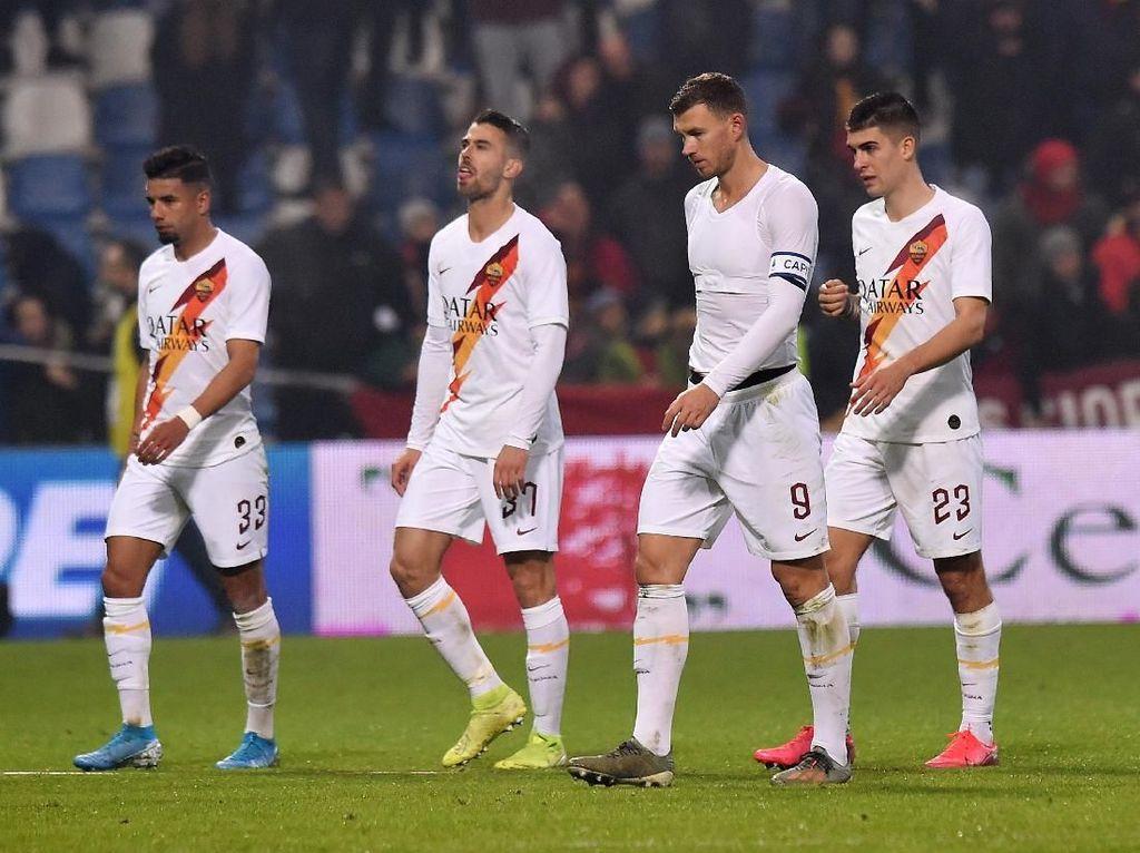 Dzeko: Permainan Roma Tak seperti Tim Serie A