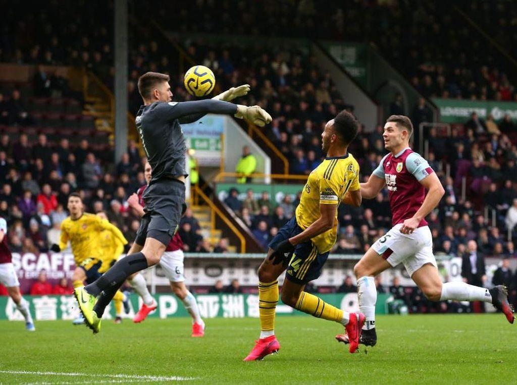 Babak I Burnley Vs Arsenal Berakhir Tanpa Gol