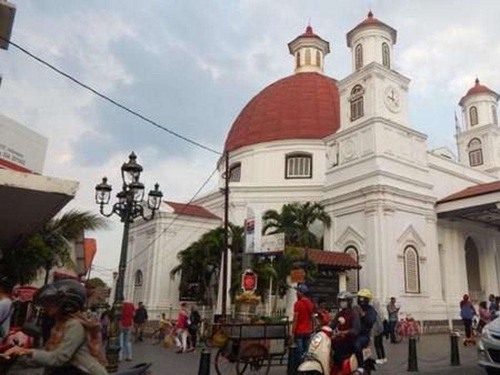 Weekend Seru di Kota Lama Semarang