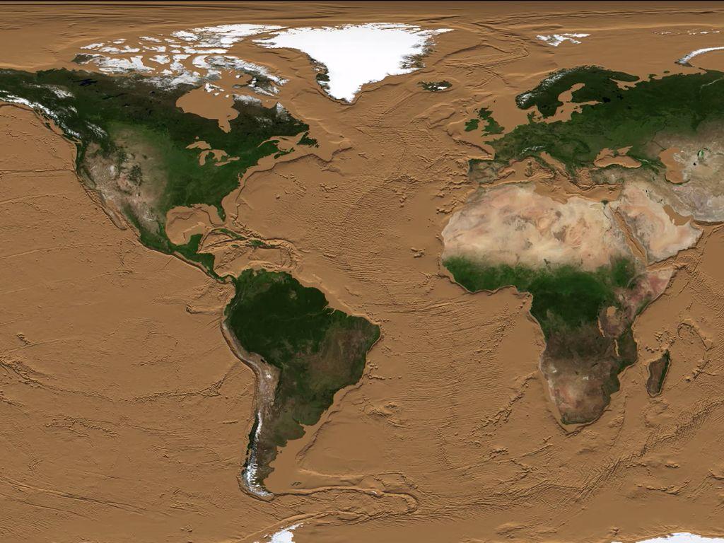 Ini Jadinya Jika Semua Air di Bumi Habis