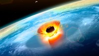 Asteroid Raksasa Dulu Sering Hantam Bumi