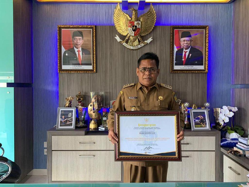 Dinilai Sukses Bangun Tata Ruang, Walkot Banda Aceh Raih Award