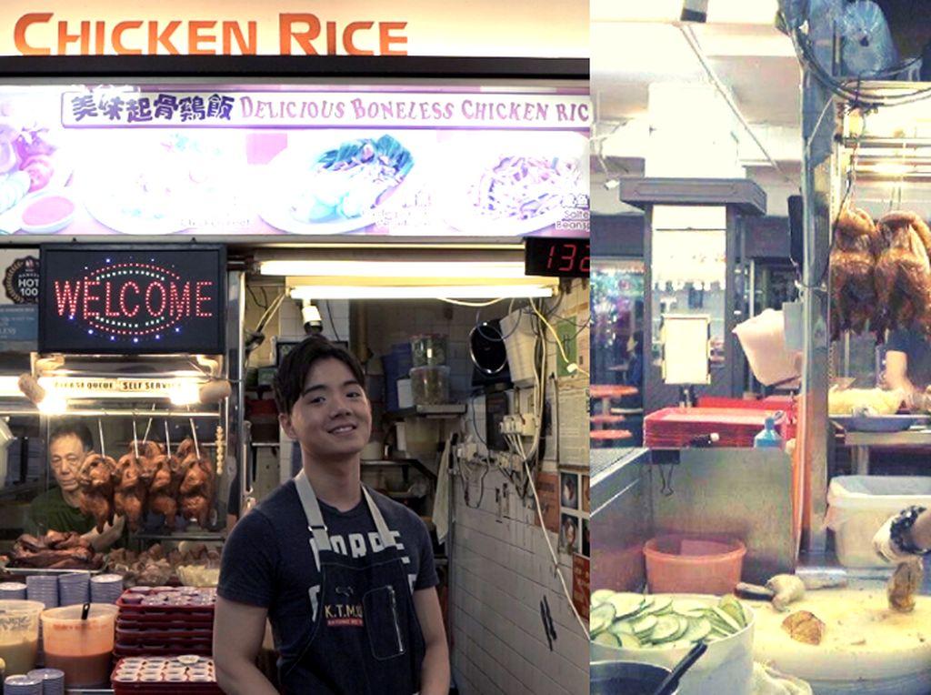 Penjual Nasi Ayam Tampan Ini Nyambi Jadi Seleb TikTok!