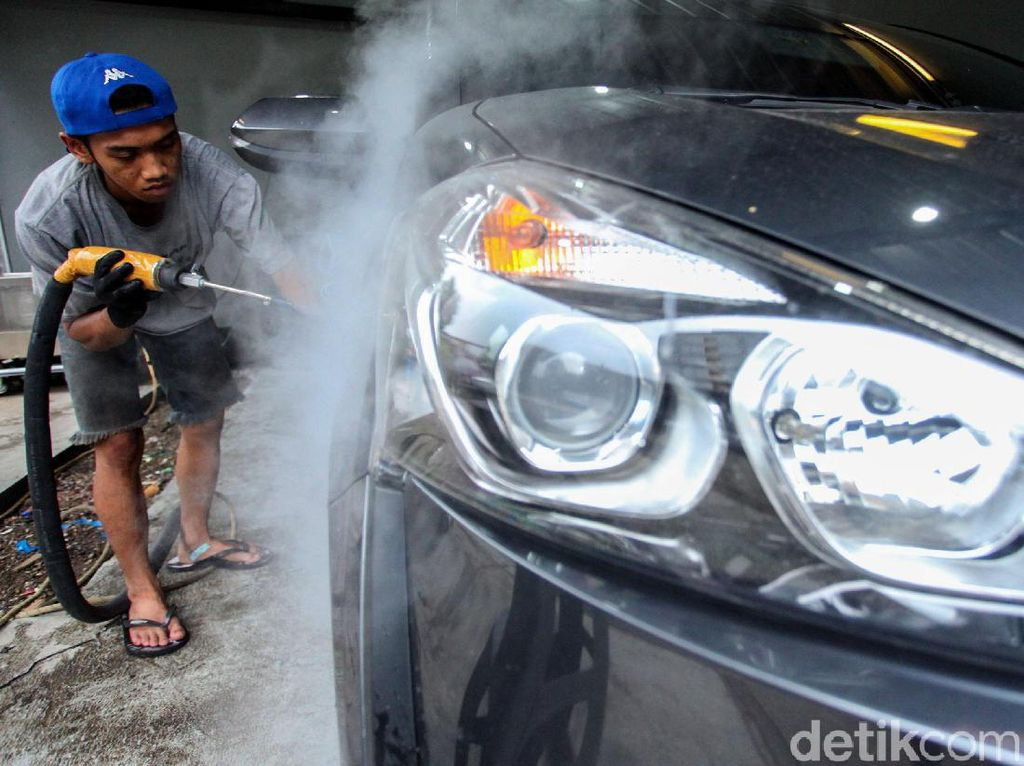 Before-After, Cuci Mobil Sauna