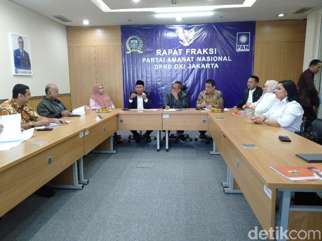 Cari Dukungan, Cawagub Ahmad Riza Patria Keliling Fraksi DPRD DKI