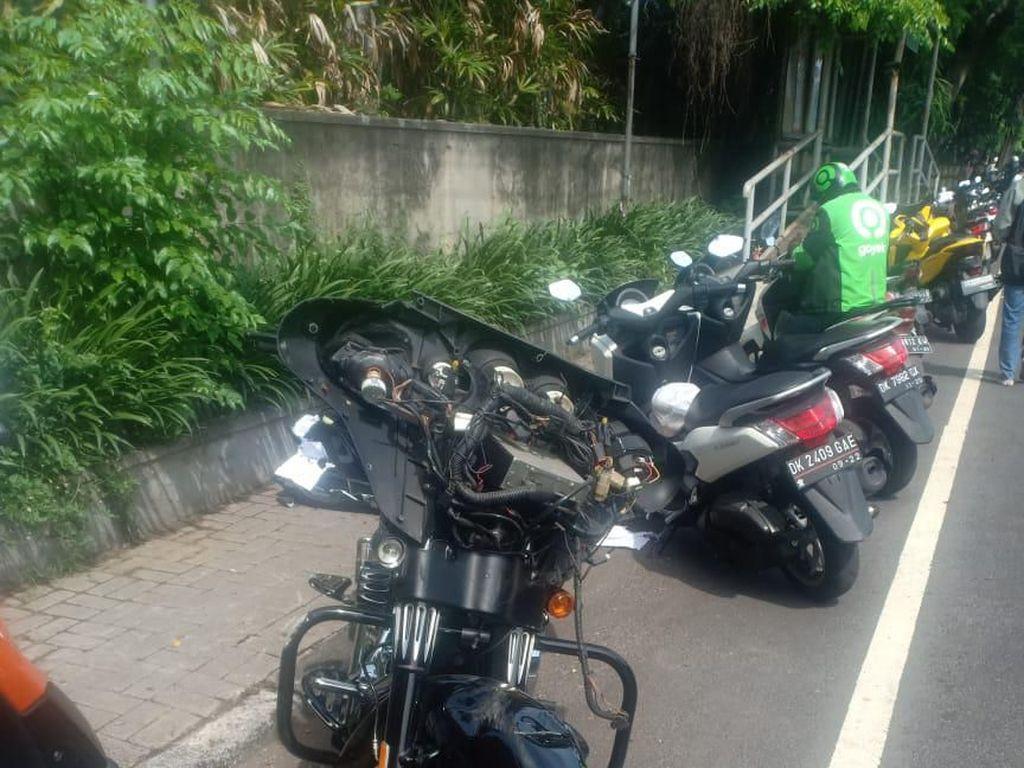 Pengendara Harley Tabrak Bocah di Bali, HDCI Bandung: Bukan Anggota Kami