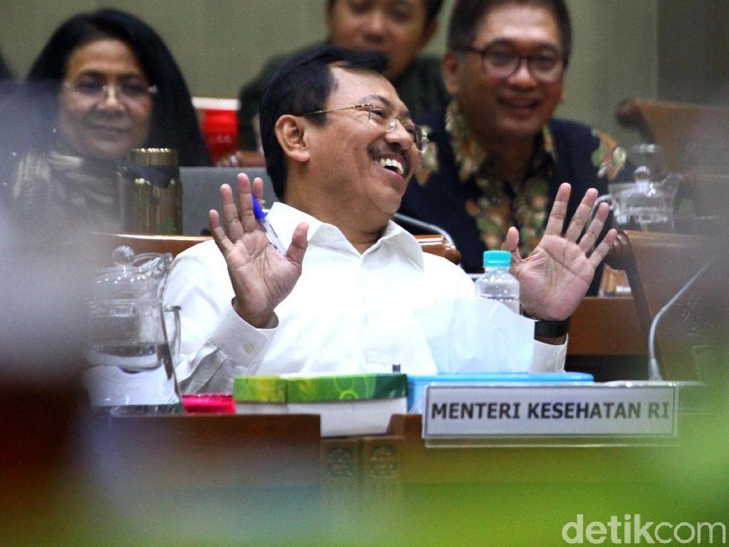 Penjelasan Menkes Terawan Soal Jabatan Baru Achmad Yurianto