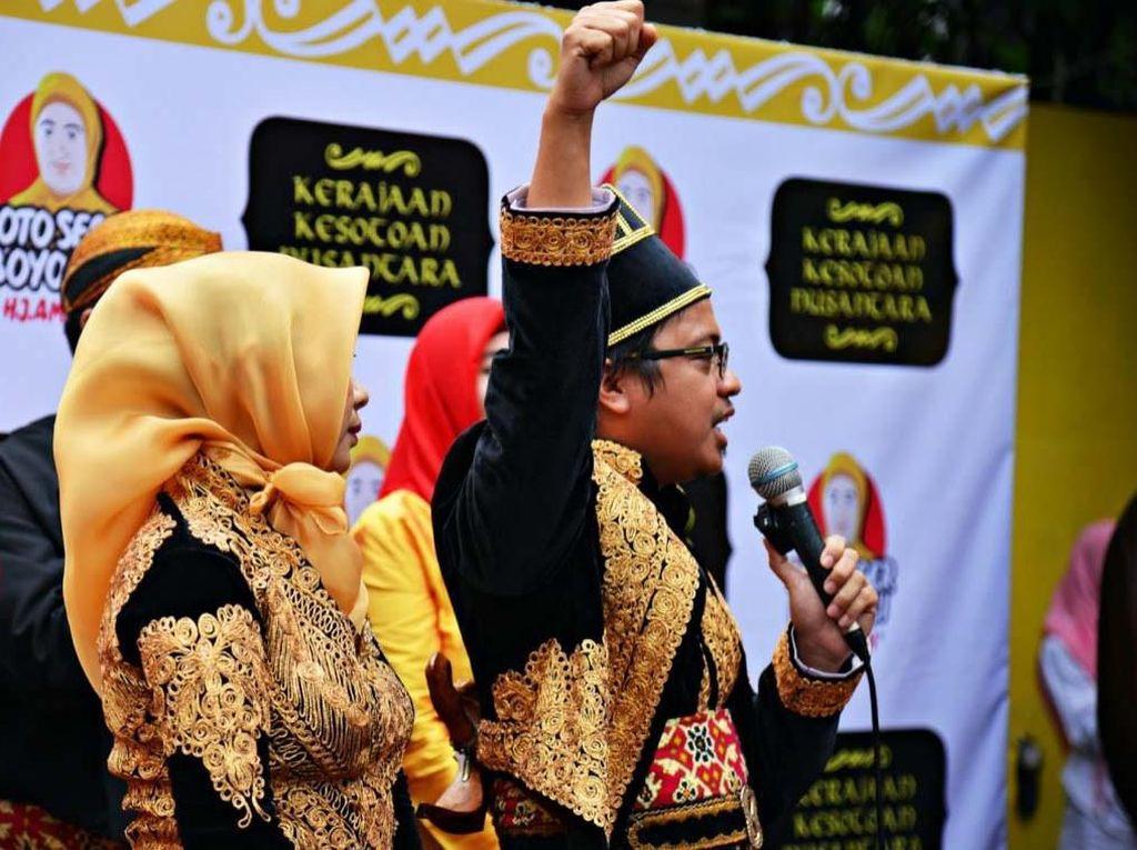 Pria Depok Deklarasikan Kerajaan Kesotoan Nusantara