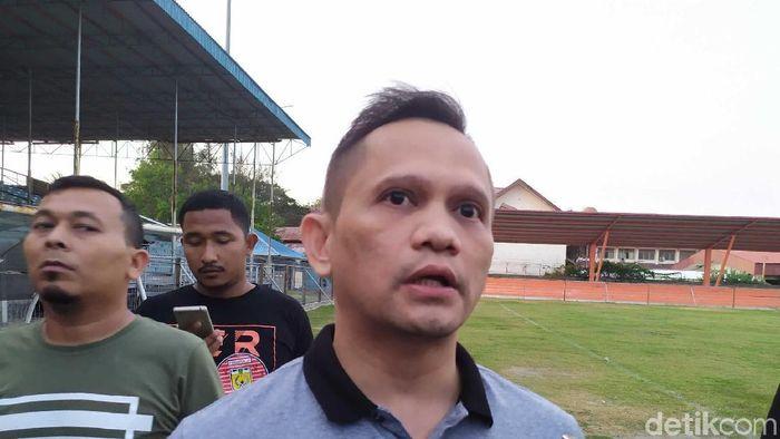 Presiden Klub Persiraja Nazaruddin Dek Gam