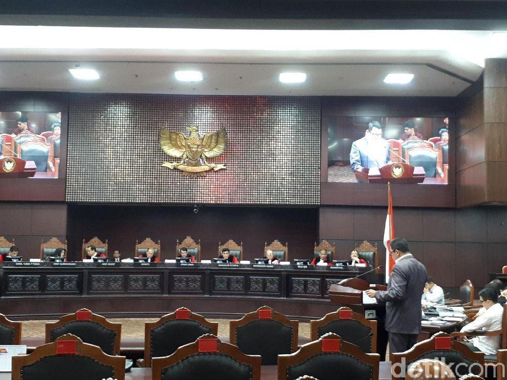 Sidang MK, Pemerintah Sebut Izin Penyadapan KPK Untuk Kepastian Hukum