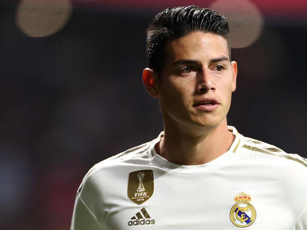 Karena James Rodriguez Tak Kunjung Jawab Kepercayaan Madrid