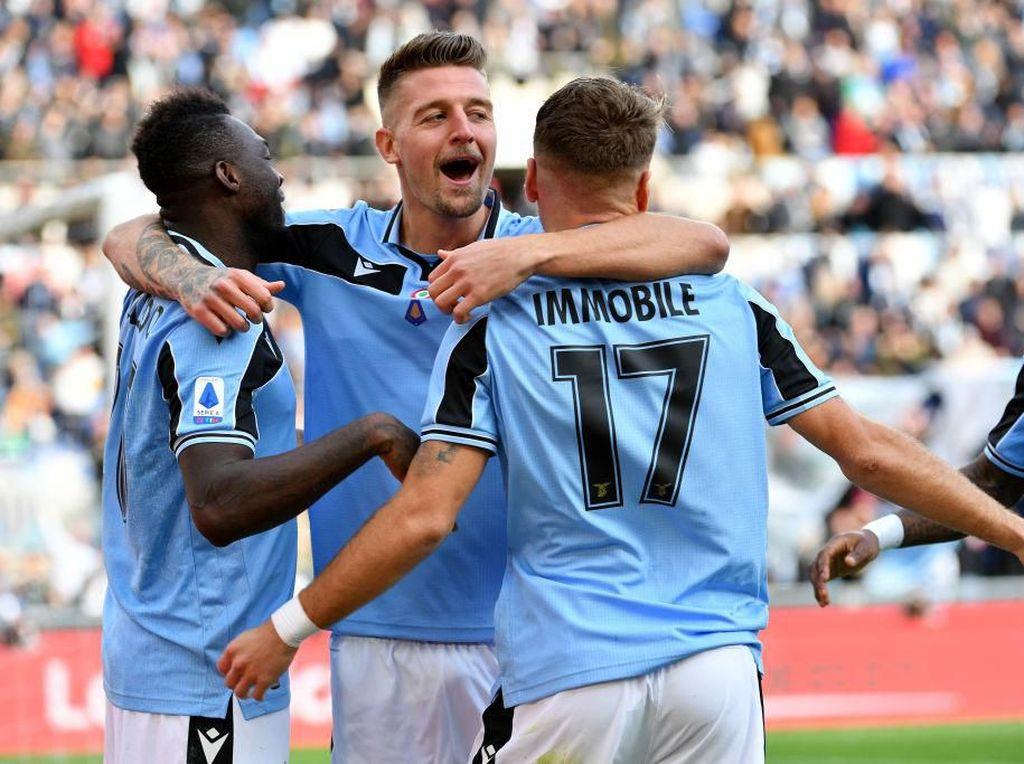 Scudetto Penting, Namun Lazio Fokus Amankan Tiket Liga Champions Dulu