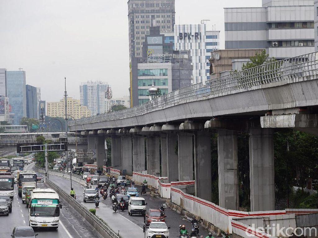 Progres Terkini Proyek LRT Jabodebek