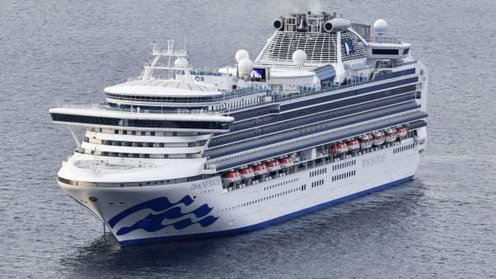 Mengintip Kapal Diamond Princess yang Bawa 3 WNI Positif Corona