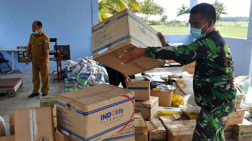Logistik untuk WNI yang Dikarantina di Natuna