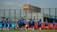 Pemain Barcelona Dipaksa Nonton Sepakbola Selama Lockdown