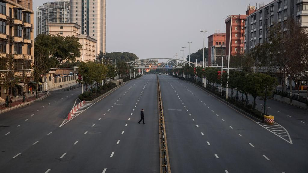 Keseharian di Wuhan Saat Wabah Virus Corona Melanda
