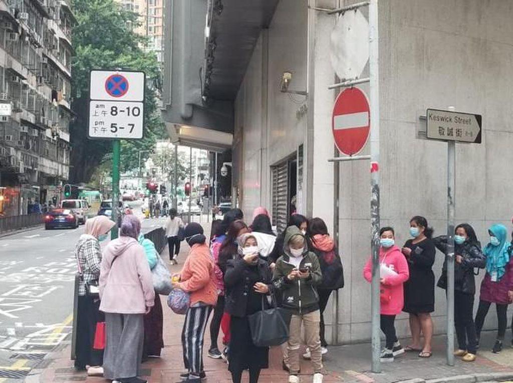 Cerita KJRI Hong Kong Kewalahan Bagikan Masker, Harus Pesan dari Indonesia