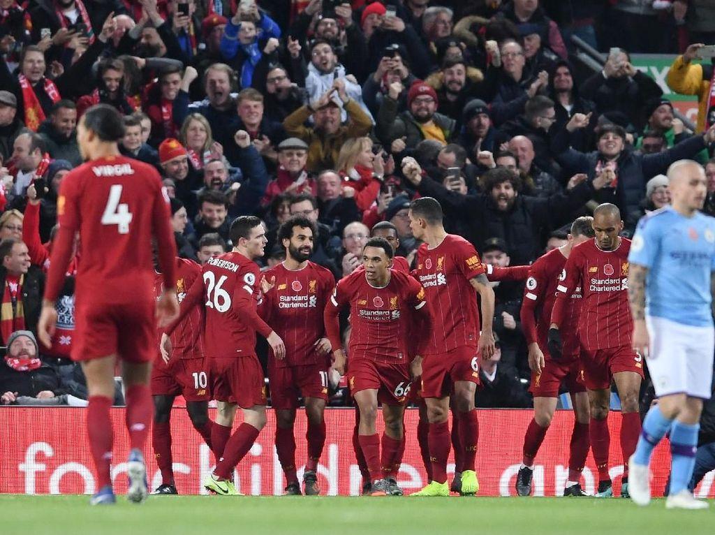 Fernandinho: Liverpool Sudah Juara Liga Inggris
