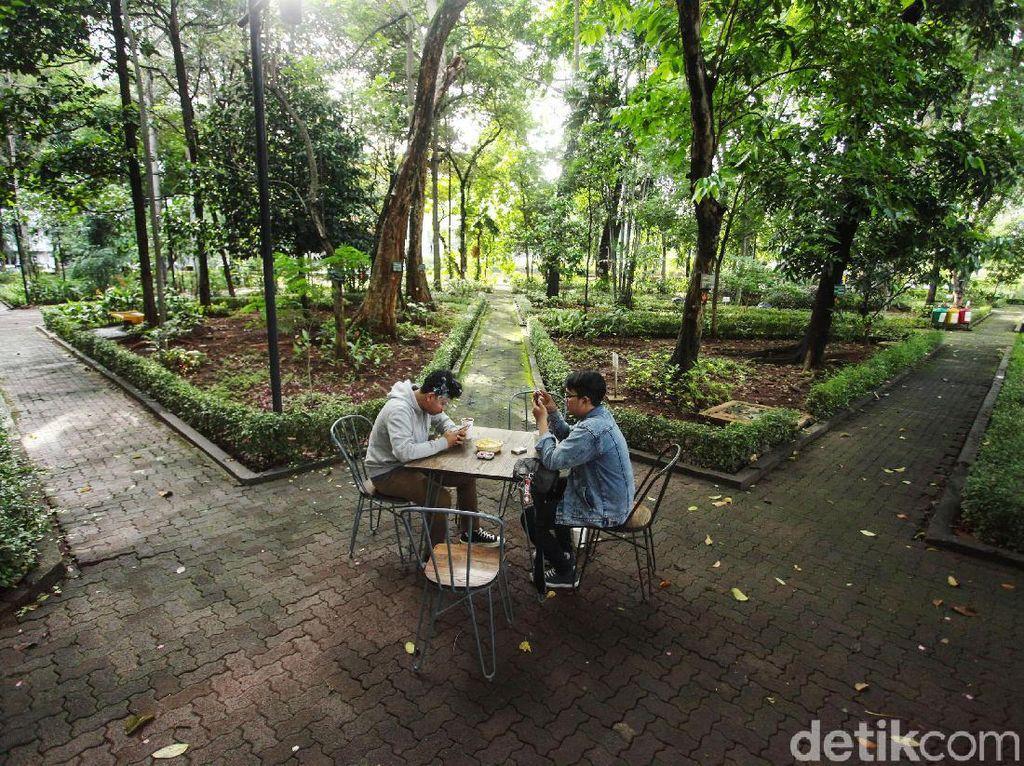 Kafe Ala Puncak di Hutan Kota Jakarta