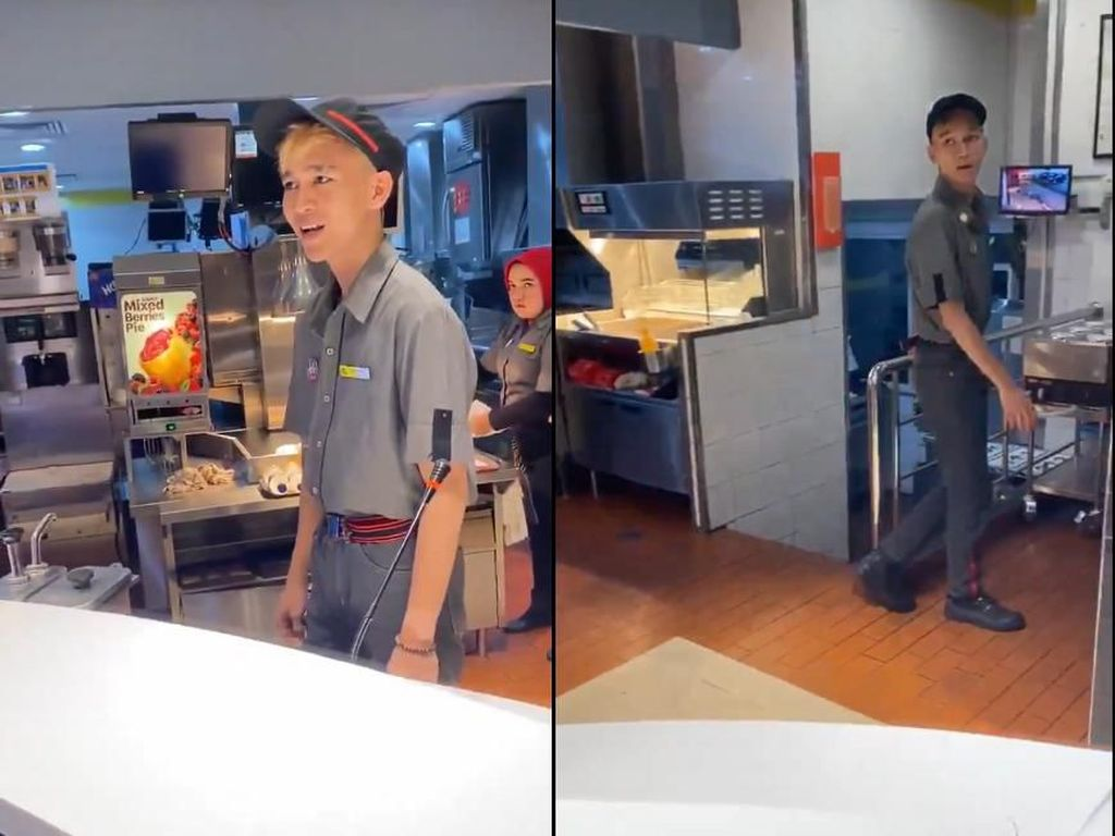Nasib Akhir Pelayan McD yang Tipu Pelanggan hingga Seleb Makan di Warteg
