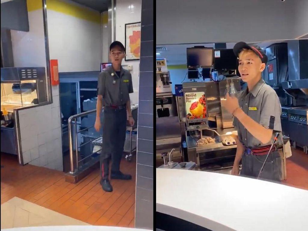 Disebut Lakukan Penipuan Harga, Video Pelayan McDonalds di Senayan Viral