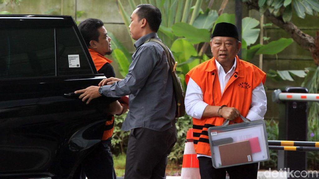 Sampel Suara Bupati Sidoarjo Nonaktif Saiful Ilah Diambil KPK