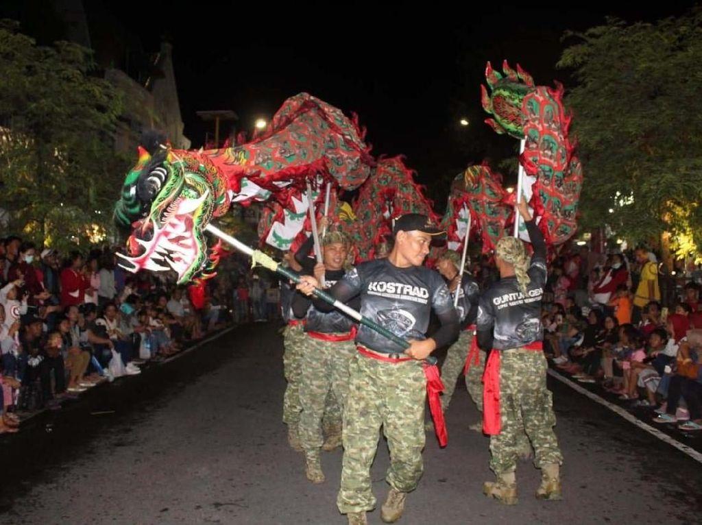 Barongsai Guntur Naga Geni Meriahkan Malioboro Imlek Festival