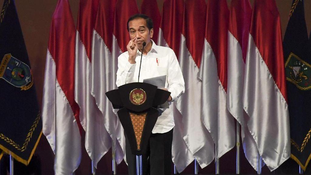 Jokowi Beri Arahan Penanggulangan Bencana di Rakornas BNPB