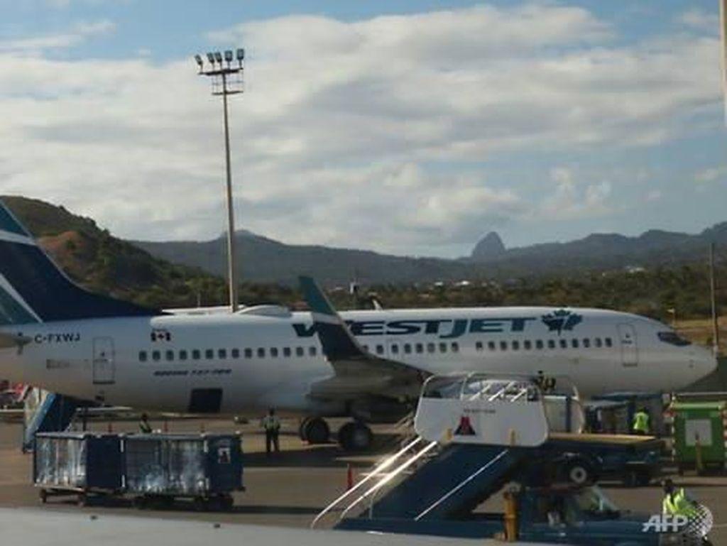 Penumpang Ngaku Kena Corona, Pesawat di Kanada Kembali ke Bandara