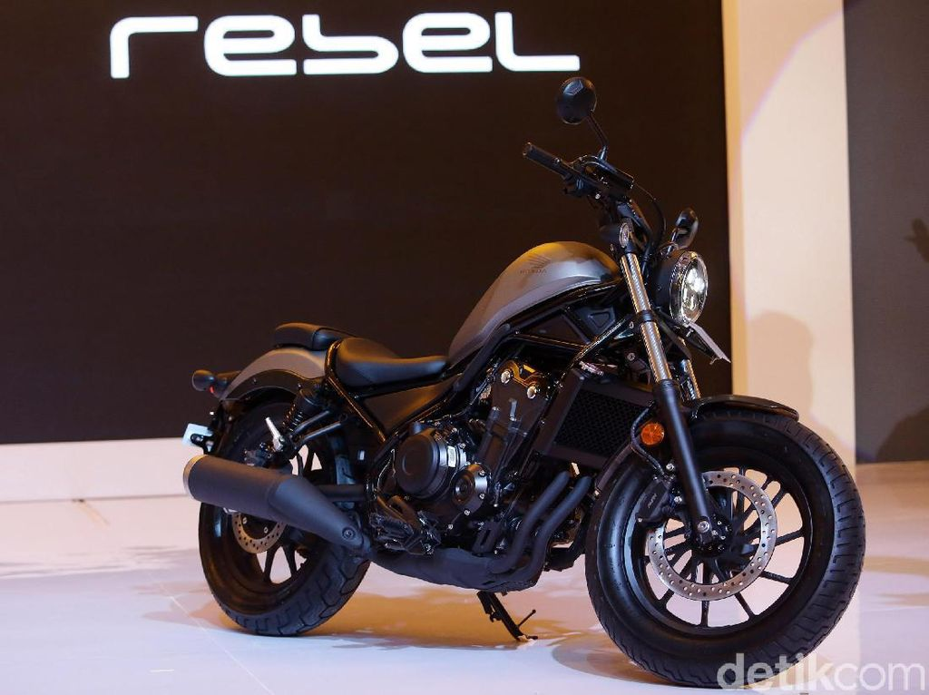 Honda Rebel Terbaru Makin Kece