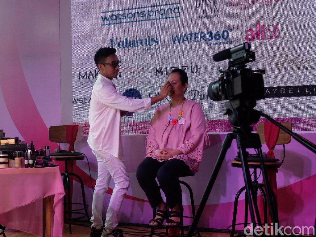 Bubah Alfian Jadikan Pejuang Kanker Sebagai Model Makeupnya