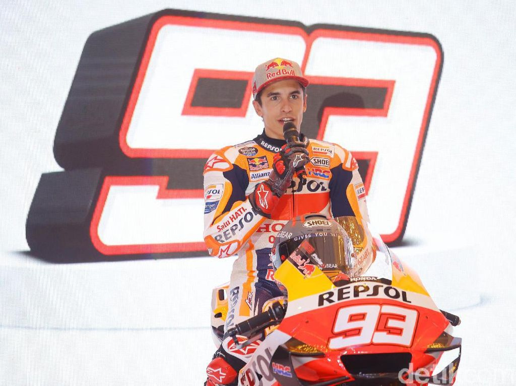 Marc Marquez Kian Giat Main PS demi MotoGP Virtual Race