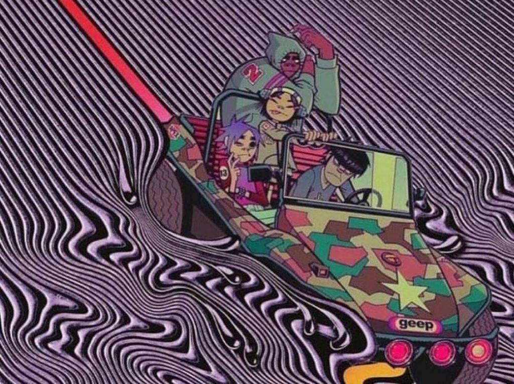 Gorilaz Bajak Cover Album Tame Impala, Tandai Proyek Kolaborasi