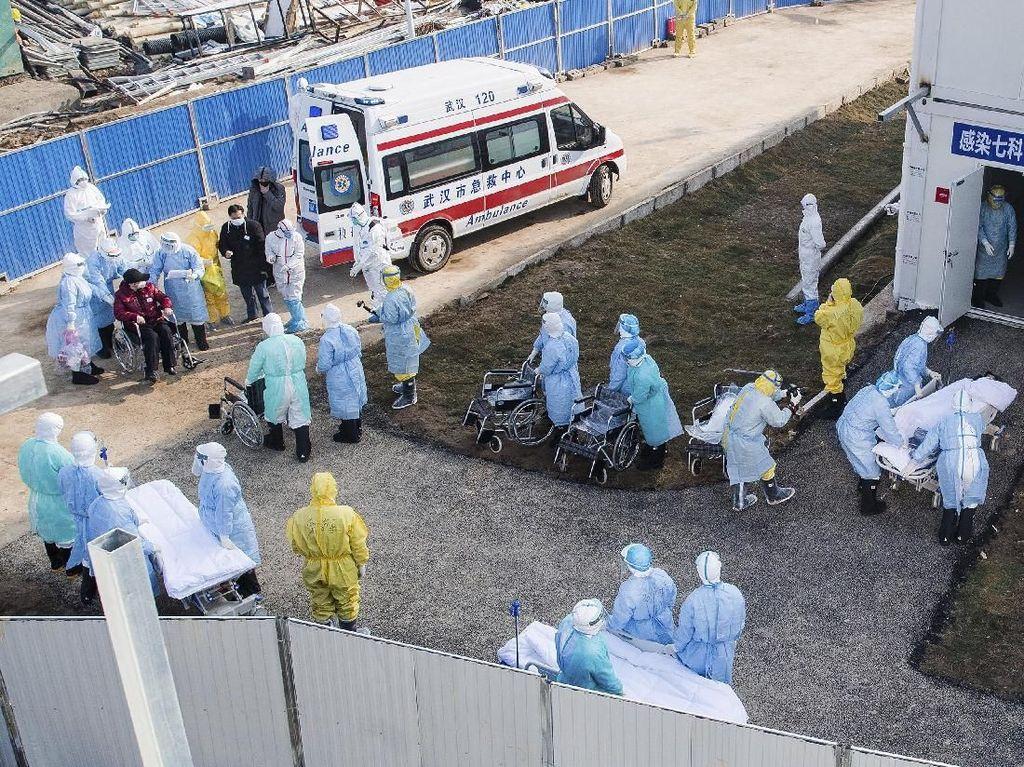 Rumah Sakit Kilat Virus Corona di Wuhan Mulai Rawat 50 Pasien