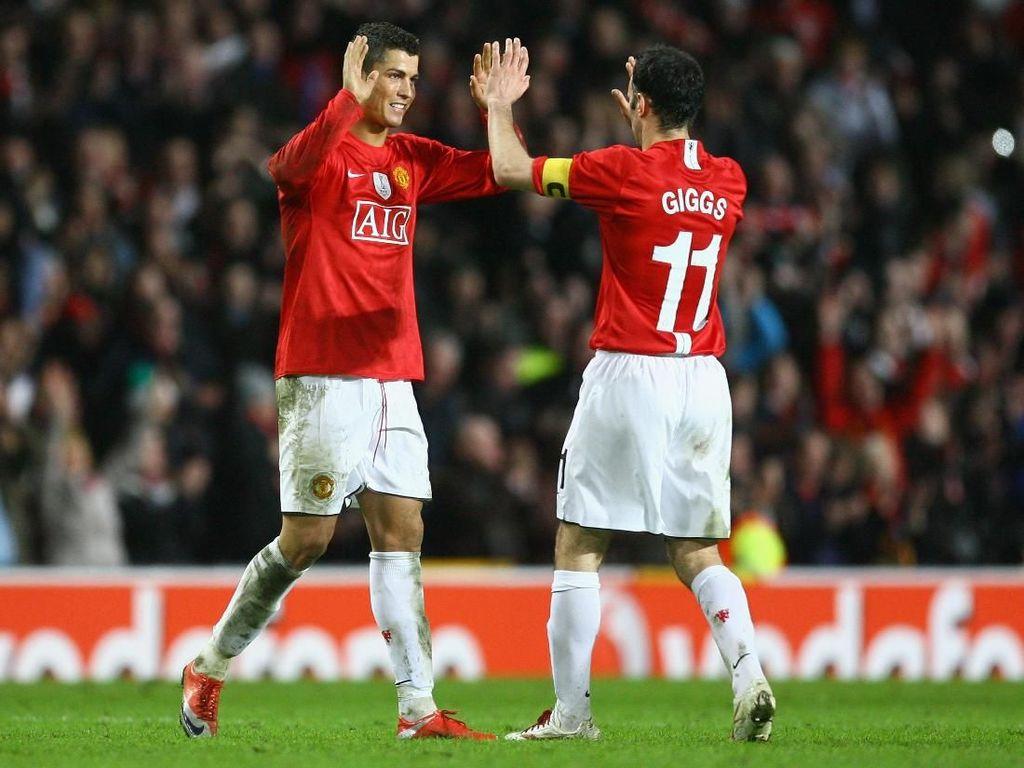 Giggs Pernah Omeli Ronaldo, eh Dibalas sama Hat-trick!