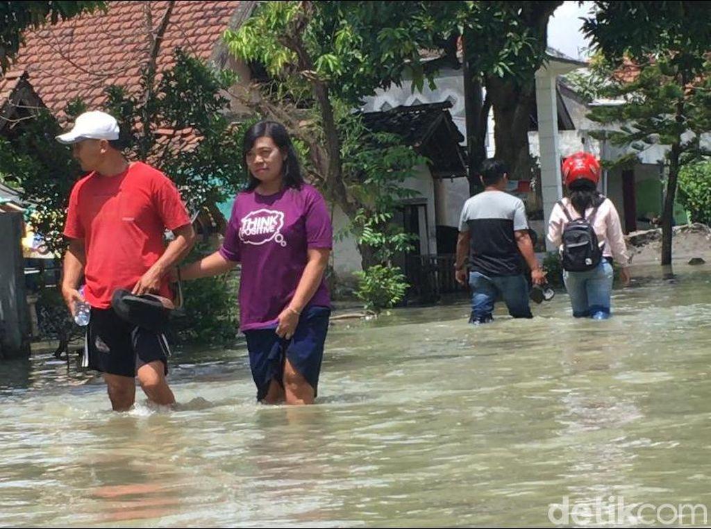 Banjir di Mojokerto dan Jombang Diwarnai Persoalan, Apa Saja?