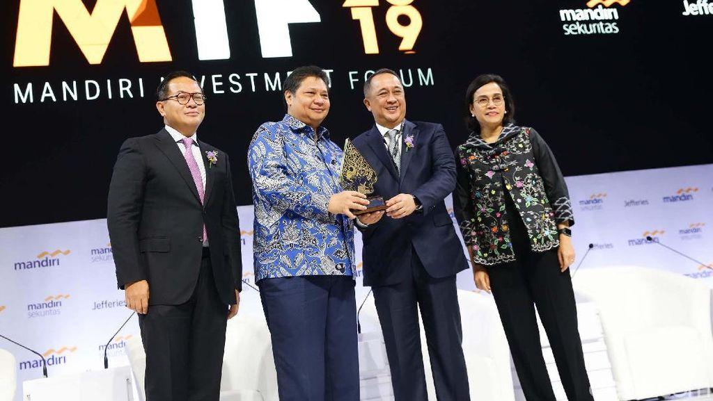 Menggaet Investor Lewat Mandiri Investment Forum