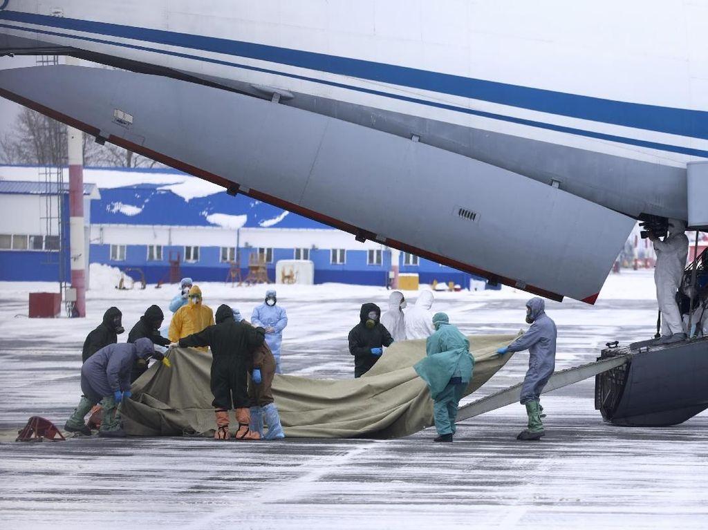 Virus Corona Merajalela, Rusia-Uzbekistan Evakuasi 470 Orang dari China
